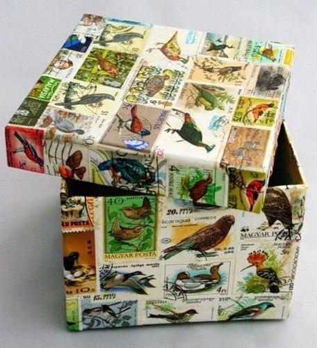 Что можно сделать из почтовых открыток, романтичные добрым