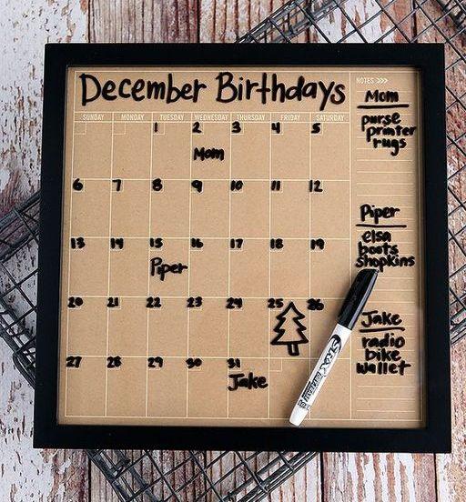 Дни рождения сотрудников оформление списка шаблон